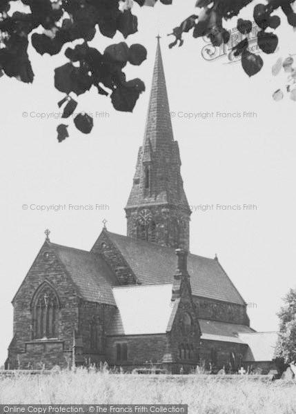 Photo of Winsford, St John's Church c.1955