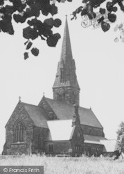 Winsford, St John's Church c.1955
