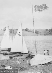 Winsford, The Flashes, Yachting c.1960