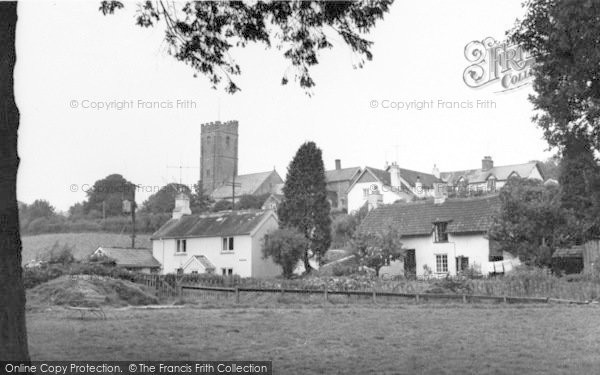 Photo of Winsford, The Green And Church c.1965