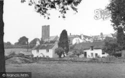 The Green And Church c.1965, Winsford