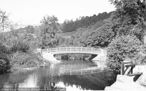 Photo of Winsford, The New Exe Bridge c.1955