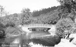The New Exe Bridge c.1955, Winsford