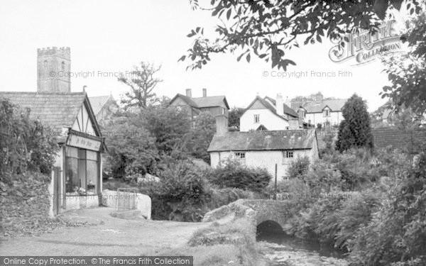 Photo of Winsford, The Packhorse Bridge c.1960