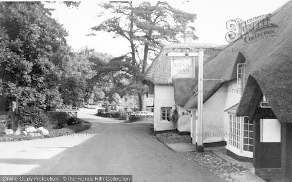 Photo of Winsford, The Royal Oak Hotel c.1955
