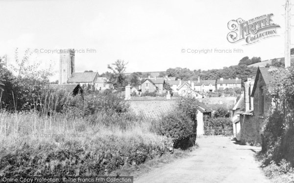 Photo of Winsford, The Village c.1955