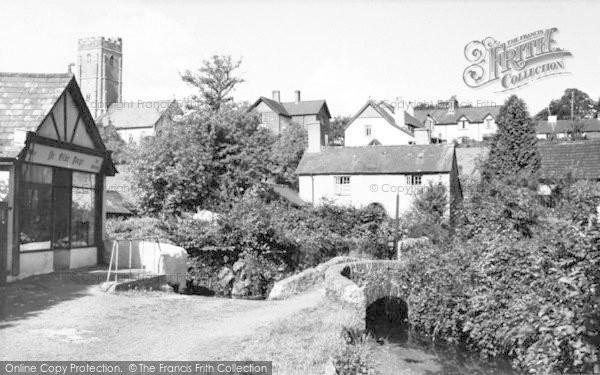 Photo of Winsford, The Village c.1955