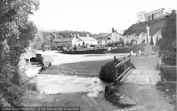 Photo of Winsford, The Village From The Watersplash c.1955