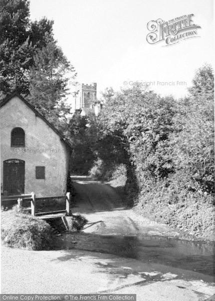 Photo of Winsford, The Watersplash c.1955