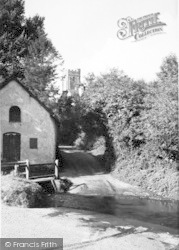 The Watersplash c.1955, Winsford