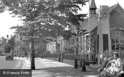 Winsford, War Memorial And Schools c.1955