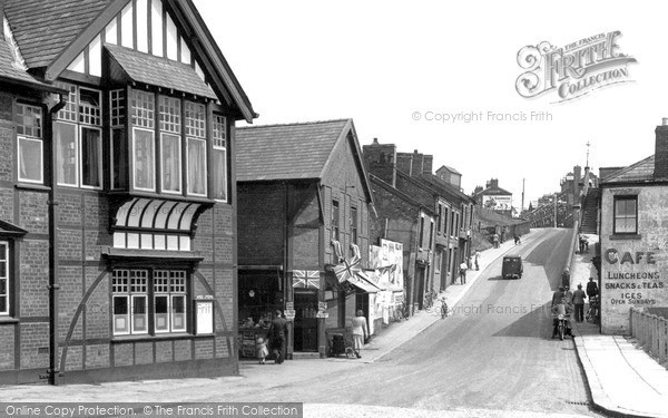Photo of Winsford, Wharton Hill c.1955
