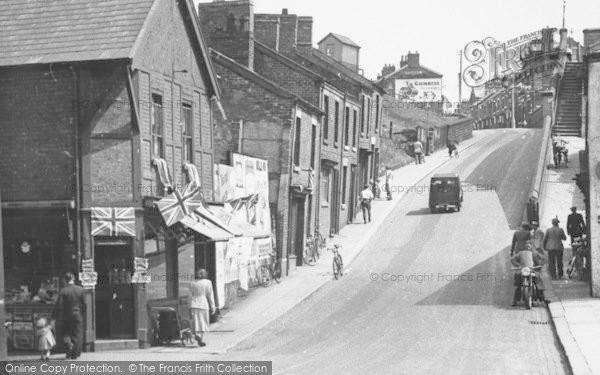 Photo of Winsford, Wharton Hill c.1955