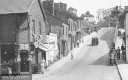Winsford, Wharton Hill c.1955