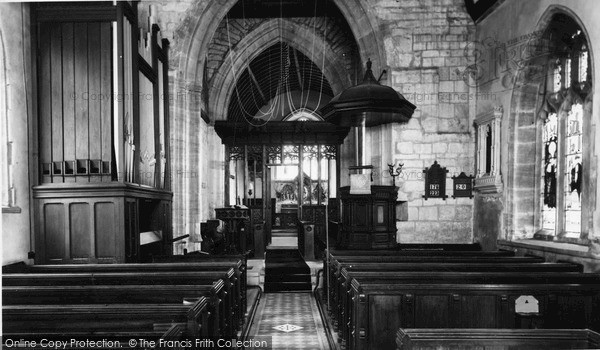 Photo of Winsham, Church Interior c.1955