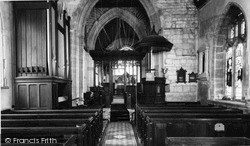 Winsham, Church Interior c.1955