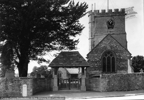 Photo of Winsham, Church Of St Stephen And Lychgate c.1950