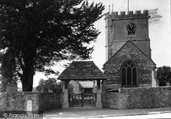 Winsham, Church Of St Stephen And Lychgate c.1950