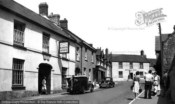 Photo of Winsham, Church Street c.1955