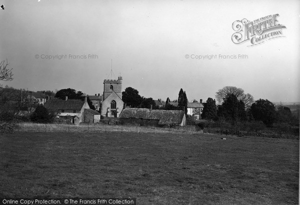Photo of Winsham, From The South c.1950