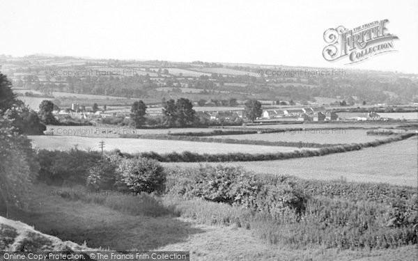 Photo of Winsham, General View c.1955