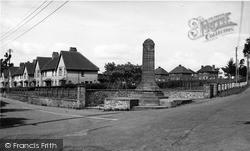Winsham, Memorial Corner c.1955