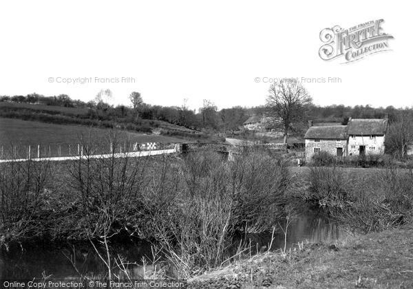 Photo of Winsham, River Axe c.1950