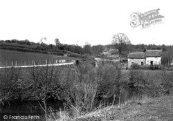 Winsham, River Axe c.1950