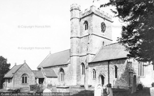 Photo of Winsham, The Church c.1955