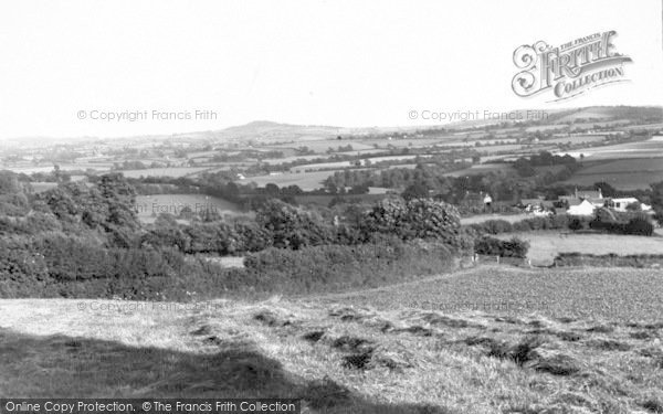 Photo of Winsham, View From Crewkerne Road c.1960