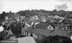 Winsham, Village From Church Tower c.1955