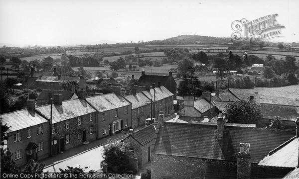 Photo of Winsham, Village From Church Tower c.1955