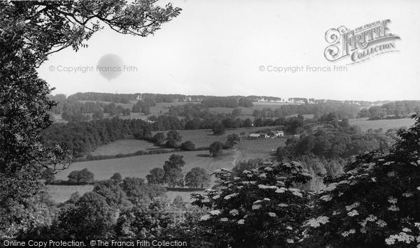 Photo of Winsham, Windwhistle Hill c.1955
