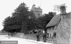 Winsley, Church And Cottage c.1890