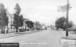 Winslow, Buckingham Road c.1955