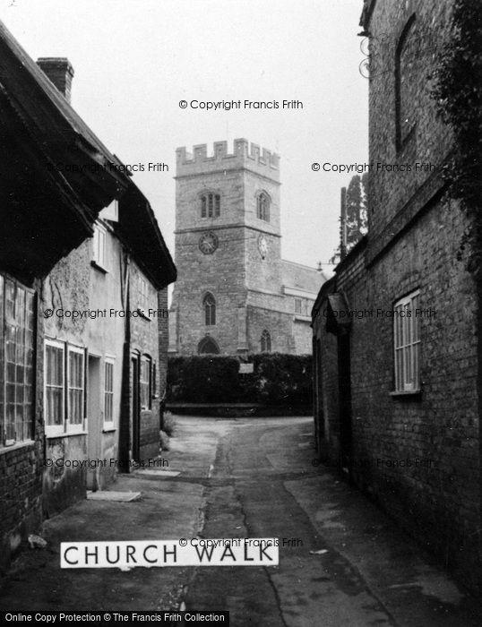 Photo of Winslow, Church Walk c.1960