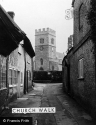 Winslow, Church Walk c.1960