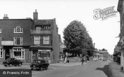 High Street From Bell Corner c.1960, Winslow