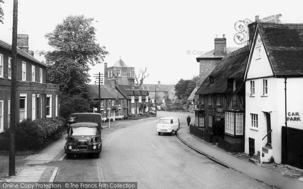 Photo of Winslow, Horn Street c.1960