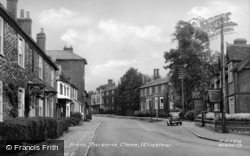 Horn Street, From Parson's Close c.1955, Winslow