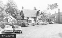 Winslow, Plough Cottages c.1960