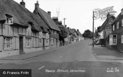 Sheep Street c.1955, Winslow