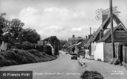 Sheep Street From School Hill c.1955, Winslow
