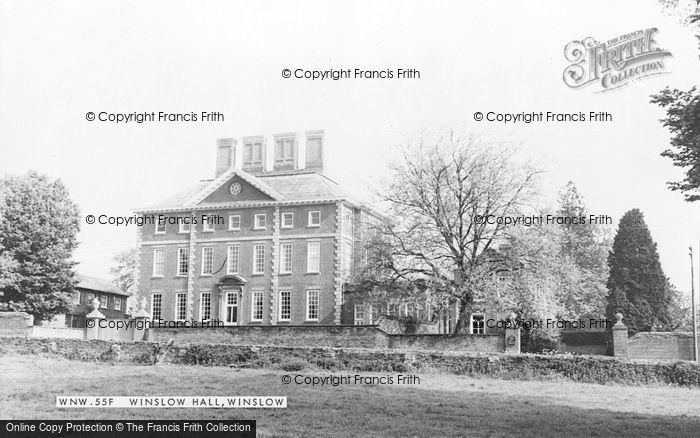Photo of Winslow, Winslow Hall c.1960