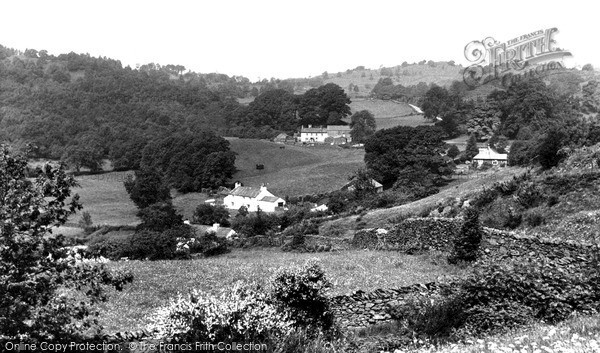 Photo of Winster, The Valley c.1960