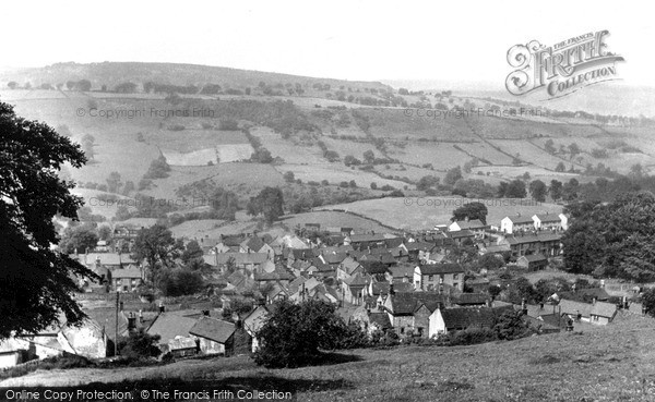 Photo of Winster, View From Rocks c.1960