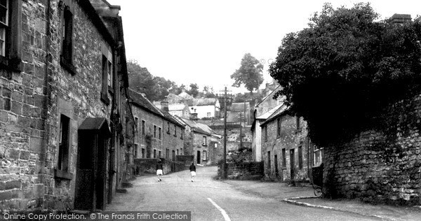 Photo of Winster, West Bank c.1955