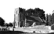 Winterborne Kingston, St Nicholas Church c1960