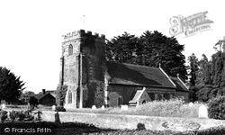 Winterborne Kingston, St Nicholas Church c.1960