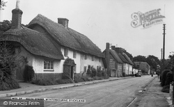 Winterborne Stickland, Main Street 1955